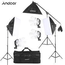 Photography Studio Light Continuous Lighting Lamp Softbox Tripod Stand Kit B3M1