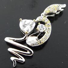 Cubic Zirconia 18k Necklaces & Pendant Wedding Party Jewellery
