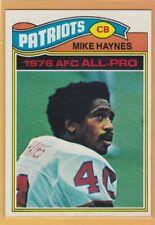 1977 TOPPS FOOTBALL MIKE HAYNES ROOKIE #50 PATRIOTS EXMT *70053