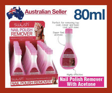 Nail Polish Remover with Acetone 80ml Pink Bottle Strong Care Manicare Travel