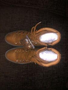 New Look Women's Dabble 2-Ic SDT Lace DTL Ankle Boots Beige Tan 18 UK 6 EU 39