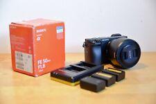 Sony Alpha a6300 Mirrorless Digital Camera + Sony FE 50mm F1.8