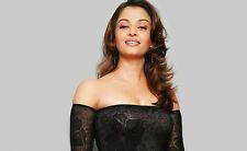 A4 Poster-Aishwarya Rai de Bollywood indio Actriz (impresión de foto Danza Arte)