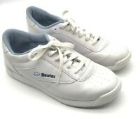 Vintage Dexter Bowling Shoes Size 8M White Women's B826-9