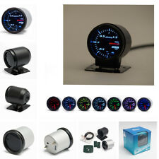 12V 52mm 7 Color LED Car Turbo Boost Gauge Meter With Sensor and Holder