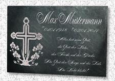 Gedenkplatte Grabstein Grabtafel Tiergrabstein Schiefergravur Urne Motiv  BK - 1