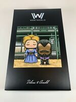 Loot Crate Exclusive West World Dolores and Arnold Super EMO Friends Figure