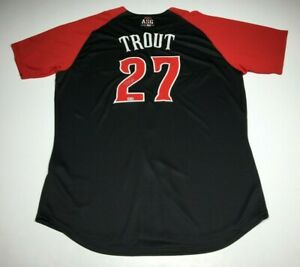 Mike Trout Signed Authentic 2015 All-Star Game Jersey *MVP* MLB VS304675