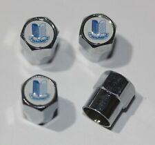 Vintage Triumph Blue Tire Valve Stem Caps Wheel - Extra Free Cap Total 5 Caps