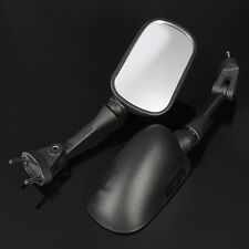 Black Side Mirrors For Kawasaki Ninja ZX6R 2002 2006 2007 2008 ZX10R 2004-2008