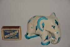 Fritz Hudler Elefant Keramik Ceramic Elephant Majolika 20er Jahre