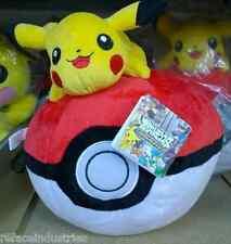 Pokemon - Pikachu on Pokeball - 12 Inch Plush Toy