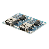 2x 5V Mini USB 1A Lithium Battery Charger Board and Protection Board Module