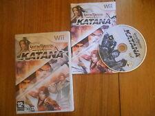 Samurai Warriors Katana / Jeu Wii / Complet