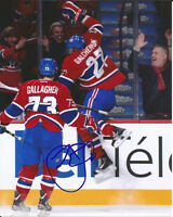 BRENDAN GALLAGHER signed 8x10 photo b MONTREAL CANADIENS
