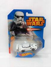 Imperial Stormtrooper Hot Wheels Star Wars Character Car 2014 Mint On Card MOC!