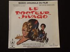 45 Upm B.O.F - Le Doktor Schiwago - Maurice Jarre - Annees 1960