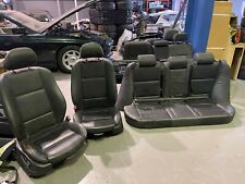 BMW E53 X5 BLACK M SPORT LEATHER INTERIOR AND DOOR CARDS ELECTRIC MEMORY HEATED