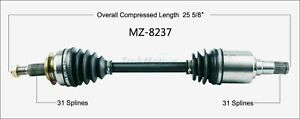 For SurTrack MZ-8237 CV Axle Shaft