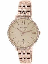 Fossil Women's Jacqueline ES3546 Rose-Gold Stainless-Steel Quartz Fashion Watch