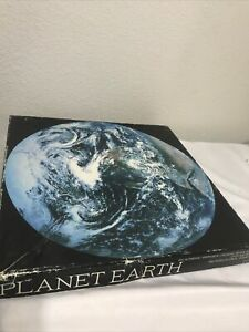Vintage 1979 Springbok Planet Earth Jigsaw Puzzle