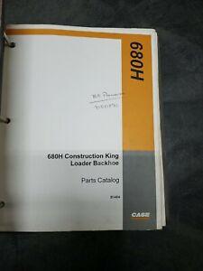 Case 680H Construction King Loader Backhoe Parts Catalog