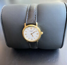 Swiss Made Tissot 1853 Womans Watch New Battery New Genuine Leather Tissot...