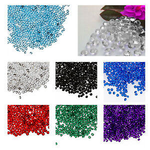 Diamond Confetti Table Top Scatter Wedding Party Sparkly Crystal Bead Gems