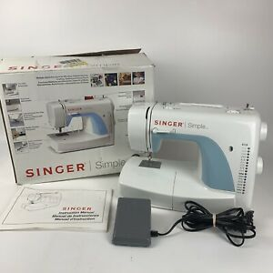 Singer 3116 Simple Sewing Machine with Foot Pedal, orig box & User Manual