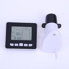 Ultraschall-Tank-Flüssigkeitstiefenmesser mit Temperatur-Wasserstandsanzeige