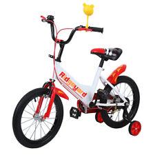 16pouces fille Garçons vélo Kids Bicycle pour enfants avec training wheels rouge