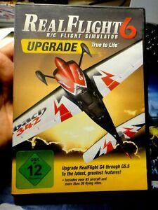 REAL FLIGHT 6 UPGRADE - R/C FLIGHT SIMULATOR - SIMULATORE DI VOLO