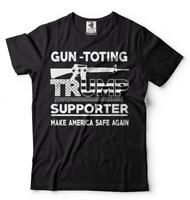Trump Supporter first amendment T-shirt Gun Rifle Rights Shirt republican Shirt