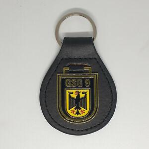 GSG9 Wappen Leder Schlüsselanhänger # BGS # Polizei SEK MEK #Bundespolizei