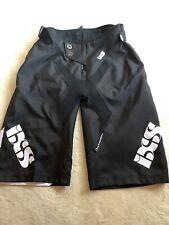 Men's IXS RACE World Cup Edition MTB Black Shorts Size Small