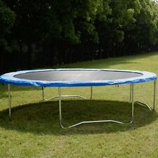 Safety Round Frame Blue Pad Spring Pad Replacement Cover for 10FT Trampoline