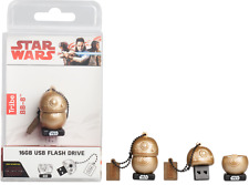 16GB Star Wars TLJ  BB-8 Gold USB Flash Drive
