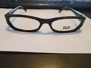 NEW Dolce Gabbana D&G 1209 502 RX Frames Brown Tortoise 51mm /16/130 PERFECT