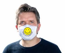 Mund-Nasen-Maske - Smiley-Schön, dass es dich gibt (*NEU*) - Schutz gegen Infekt