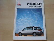 52721) Mitsubishi Space Wagon Prospekt 11/1996
