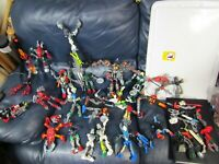 Huge Lot of LEGO BIONICLE Figures Rare