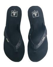 Reef Sandy Women's Black/Black Sandals Flip Flops Size 10