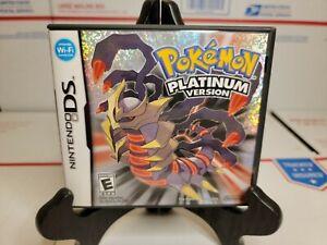 Pokemon - Platinum Version (Nintendo DS, 2009)💯 AUTHENTIC Complete