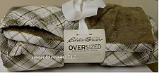 "Eddie Bauer Down Throw Ultrawarm Premium Down 72""L x 50""W Driftwood"