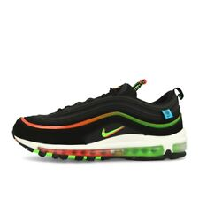 Nike Air Max 97 Worldwide Black Green Strike Herren Schuhe Sneaker Schwarz Grün