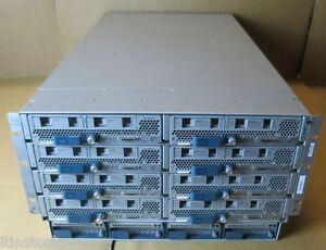 Cisco UCS5108 + 8x B200 M2 Blade Servers 16x SIX-CORE 2.40GHz,192Gb RAM,10Gb VIC