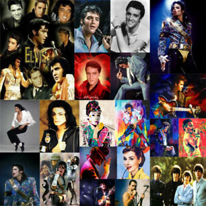 Elvis Characters Full Drill 5D Diamond Painting Embroidery Cross Craft Wall Arts