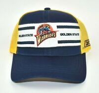 Golden State Warriors Reebok NBA Vintage Logo Adjustable Snapback Cap Hat