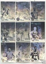 1993 Award Winner NBA Hologram Upper Deck 9 Card Set 93 Jordan Stockton Rodman