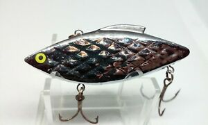 "Vintage Strike King Diamond Shad Silver 3"" Lipless Crankbait 1/2oz Fishing Lure"
